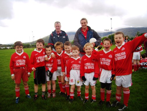 u8 urhan with trainers seamus and cormac o sullivan